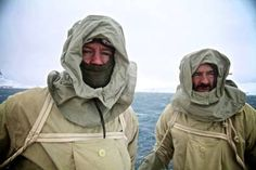 Testing out the sea-gear. #antarctica