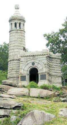 44th New York monument at Gettysburg