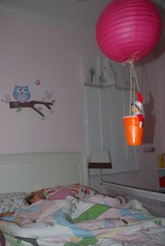 Day 11 - Twinkle watches over sleeping child