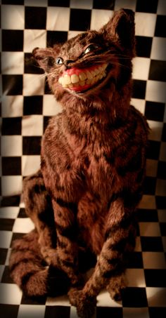 Taxidermy Cheshire Cat 2