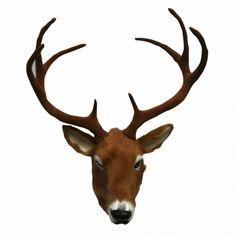 deer head Kiwiana, Deer, Moose Art, Ceramics, Medium, Animals, Ceramica, Pottery, Animales