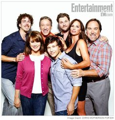 "the cast of ""home improvement"" now!"