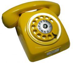 Telefone Retrô Ericsson DLG Colorido - Várias Cores - Amarelo - Ericsson - DLG - Telefones Coloridos