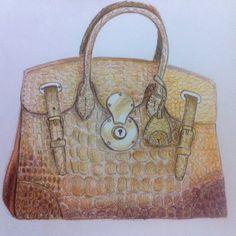 Ralph loren bag drawing