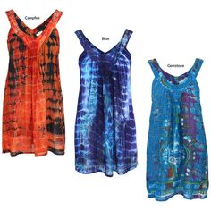 Tie+Dye+Spirit+Sleeveless+Top+at+The+Animal+Rescue+Site