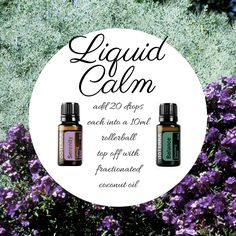 Liquid calm: When i'm trying not to be so crazy, this combo is intoxicating!! #doTERRA #essentialoils #calm