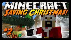 Minecraft: I'M ON THE NAUGHTY LIST! (Science Santa Adventure Map #2)
