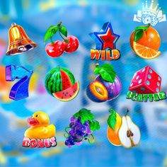 Free Casino Slot Games, Special Symbols, Water Toys, Classic Image, Wild Ones, Slot Machine, Star Shape, Main Colors, Childhood
