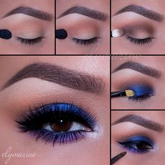Jewel tones for this look using all @makeupgeekcosmetics