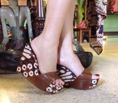 with TABANAN Wedges by PRibuMI...® Peeps, Peep Toe, Wedges, How To Make, Shoes, Fashion, Moda, Zapatos, Shoes Outlet