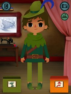 Toca Tailor Fairy Tales app for kids - new + free for a limited time. Hurry!