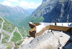 Architects: Reiulf Ramstad Architects, Oslo Norway Location: Romsdalen - Geiranger Fjord, Norway Project team: Reiulf D Ramstad, Christian Fuglset,