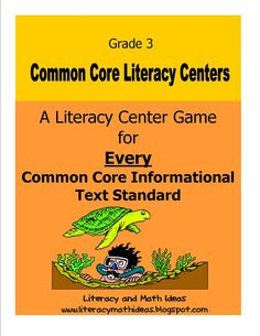 Simply Centers: Third Grade Common Core Literacy Centers For Every Informational Text Standard