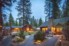 Evergreen Lodge at Yosemite, Groveland Picture: Pool House Building at Dusk - Check out Tripadvisor members' candid photos and videos of Evergreen Lodge at Yosemite Yosemite National Park Lodging, Yosemite Lodging, Yosemite Hiking, Yosemite Vacation, Hiking Trails, Jacuzzi, Chill, Bon Voyage, America