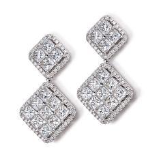 The perfect diamond earrings
