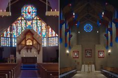 Gethsemane Episcopal Cathedral, Fargo, ND.  Constructed 1992.  Andersson-Wise Architects.
