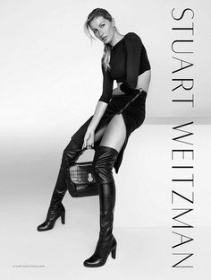 Gisele's Legs Steal the Show in Stuart Weitzman's Fall Campaign via @WhoWhatWear
