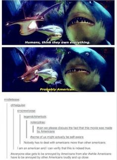 Can we just appreciate the fact that the Shark broke the fourth wall while talking about this?!!