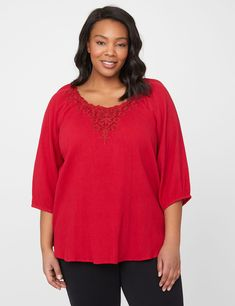 Pleasant Day Peasant Top (original price, $49.00) available at #Maurices