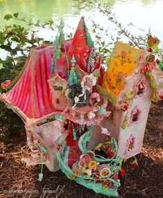 Enchanted Dollhouse by Merveillesenpapier on Etsy