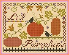 Li'l Pumpkins - free pattern for autumn