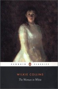 "The Woman in White-Classic-A very lengthy read with layers upon layers of flowery wrinting-Epislotary in style and stated to be the first ""mystery"" written.  NOT FOR THE FAINT OF HEART!"