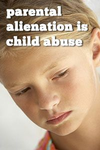 Adults impact of parental alienation syndrome