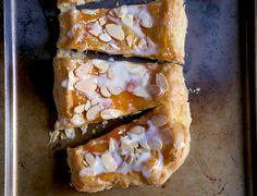 Almond puff loaf via @kingarthurflour