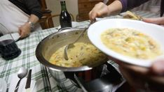 Healthy minestrone soup from the Melis family: The nine Sardinian siblings who set a Guinness World Record with a combined age of 818 credit their longevity to the family's minestrone soup, publish...