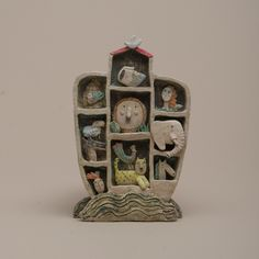 Clay Box Collage