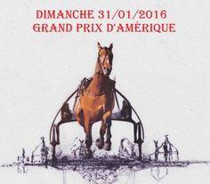 Prix d'Amérique 2016 à  l'hippodrome de  Vincennes