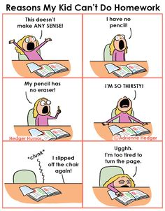 Reasons my kid can't do homework Funny Pranks, Wtf Funny, Hilarious, Studying Funny, Funny Quotes, Funny Memes, Life Hacks For School, Kid Memes, Do Homework