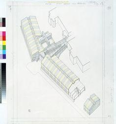 Olivetti Training School / Haslemere, Surrey, England -1969-72 / James Stirling (1926-92)