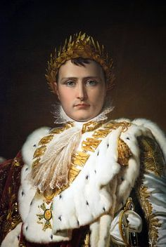 Napoleon in His Imperial Robes, by François Gérard