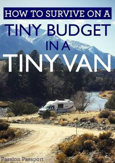 How to Survive on a Tiny Budget in a Tiny Van This week Passion Passport is featuring the on-going journey of the traveling duo known as Hair Ventures. In our final piece, Jonathan offers their advice on living in a tiny van, on a tiny budget. Bus Life, Camper Life, Camper Van, Rv Campers, Diy Camper, Truck Camper, Mini Van, Kangoo Camper, Van Dwelling
