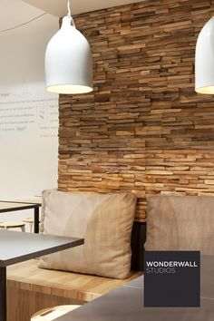 Wooden 3D Wall Cladding MERCURY by Wonderwall Studios