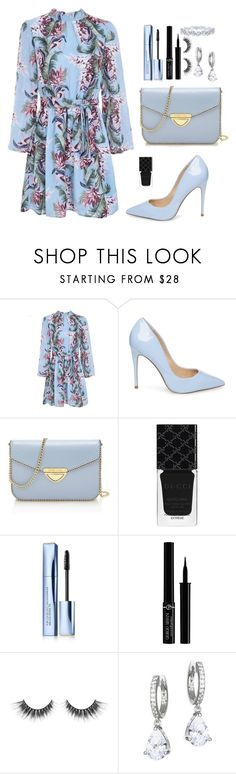 """Too much to ask"" by ines-lynch ❤ liked on Polyvore featuring Steve Madden, Saint Tropez, Gucci, Estée Lauder, Giorgio Armani, Kate Spade and Harry Winston"
