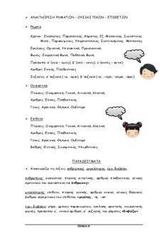 γλώσσα δ΄ δημοτικού α΄τεύχος Greek Language, Projects To Try, Words, School, Greek, Horse