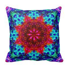 Mandala Mosaic Pillow