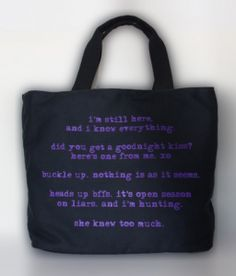 Pretty Little Liars tote