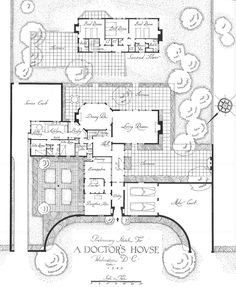 architect design™: House plan for a doctor