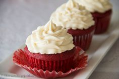 Red Velvet Cupcakes ~Sweet & Savory by Shinee