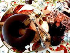 Christmas Treats: tree cake and Matthias Reim