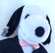 Vintage Snoopy Plush Groom in Tuxedo by Applause by RenewedFinds, $16.99