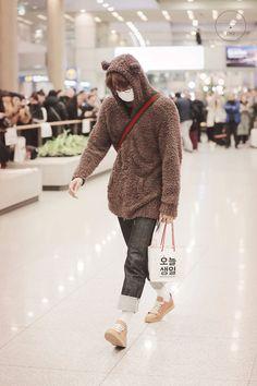 Kai - 190122 Incheon Airport, arrival from Santiago Credit: KNK. Baekhyun Chanyeol, Exo Kai, Exo Kokobop, Kris Exo, Kaisoo, Exo Ot12, Exo Fanart, Xiuchen, Kim Minseok