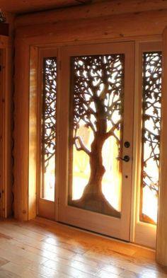 Woodland door detail   #LGLimitlessDesign and #Contest