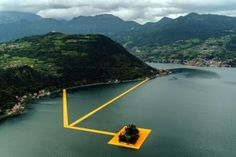 The Floating Piers Lake Iseo