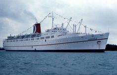 Tss Festivale A Vintage Ship From The Carnival Cruise Line My - How old are carnival cruise ships
