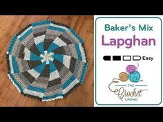 Crochet 🎂 Baker's Mix Lapghan + Tutorial - The Crochet Crowd®