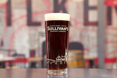 Image result for Sullivans Brewing Company pint glass